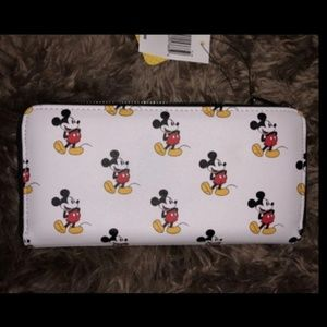 Disney Bags - Disney loungefly Mickey wallet